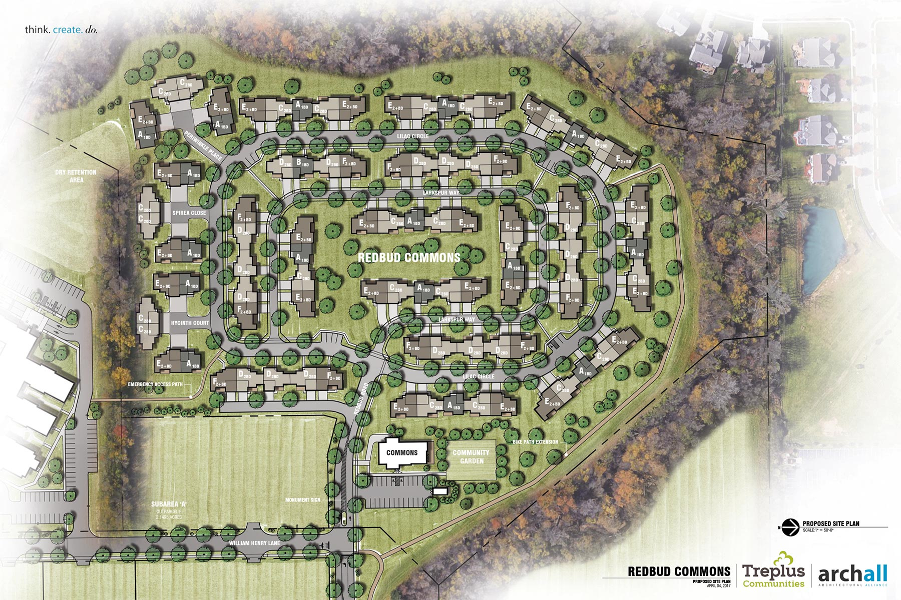 Redbud Commons Site Plan