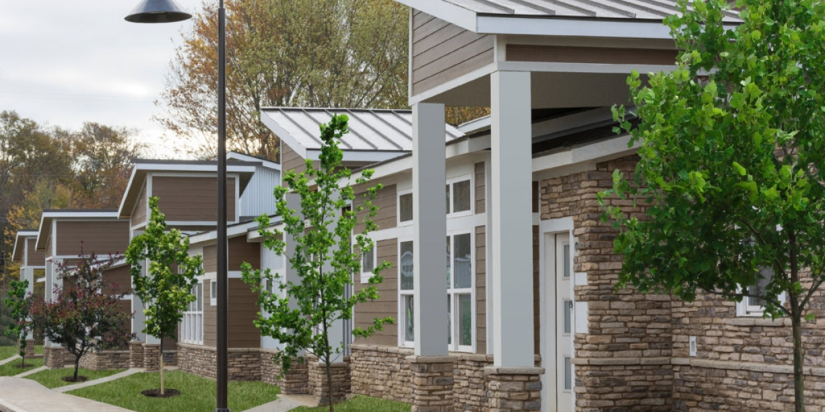 exteriors of open floorplan luxury apartments in pickerington ohio